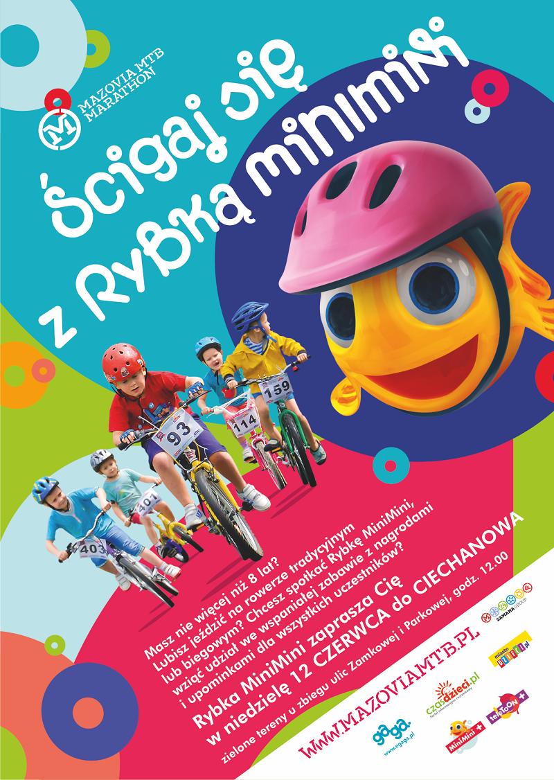 Wyścig MiniMini+ Mazovia dla najmłodszych w Ciechanowie