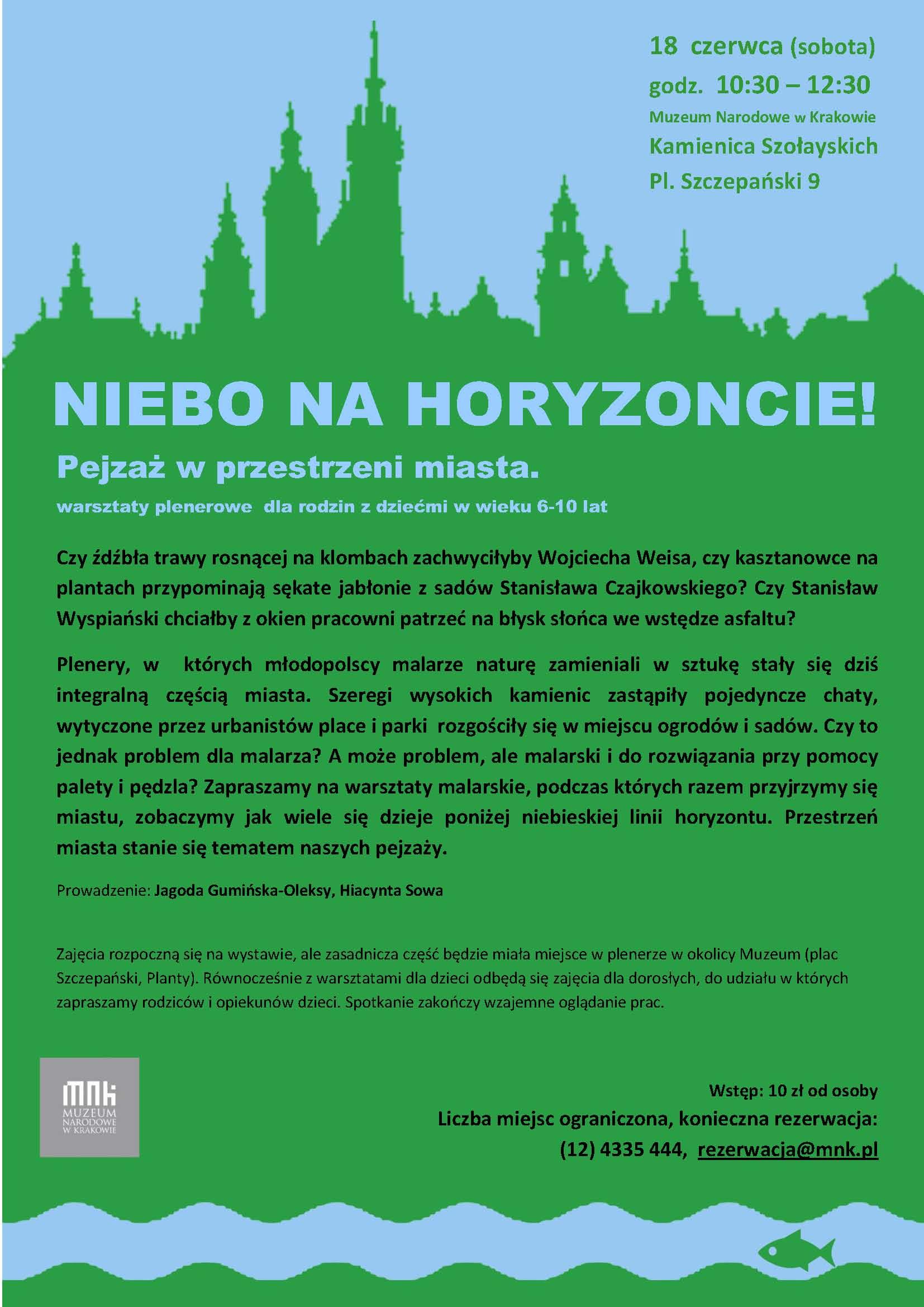 muzeum narodowe krakow plener