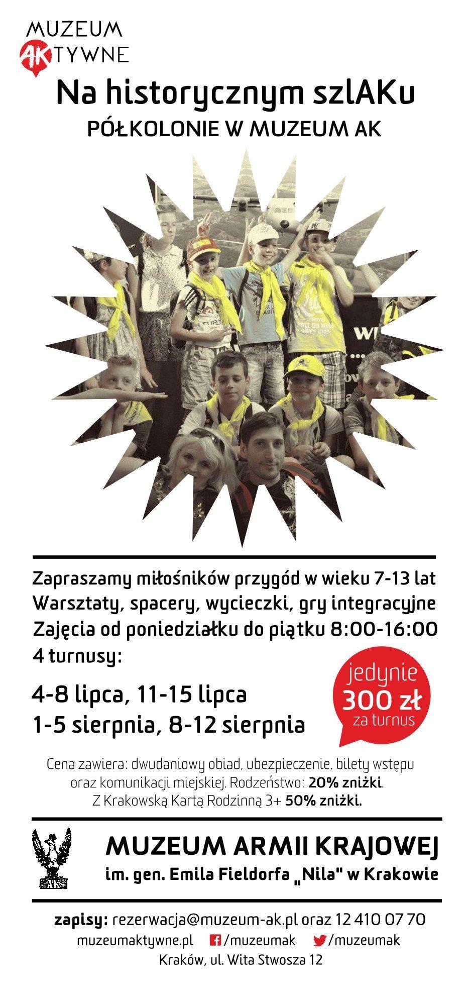 krakowa lato muzeum armii krajowej