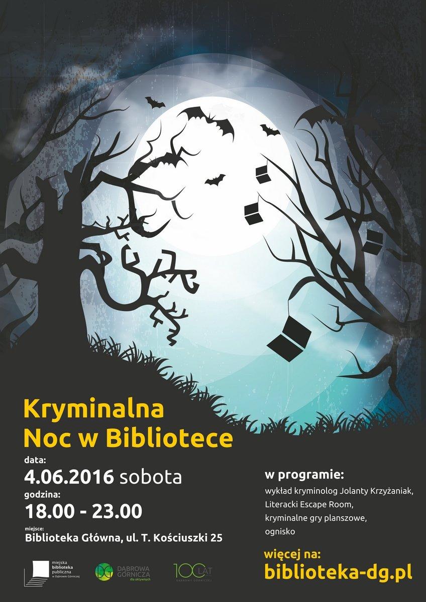 Noc bibliotek w Dąbrowie Górniczej