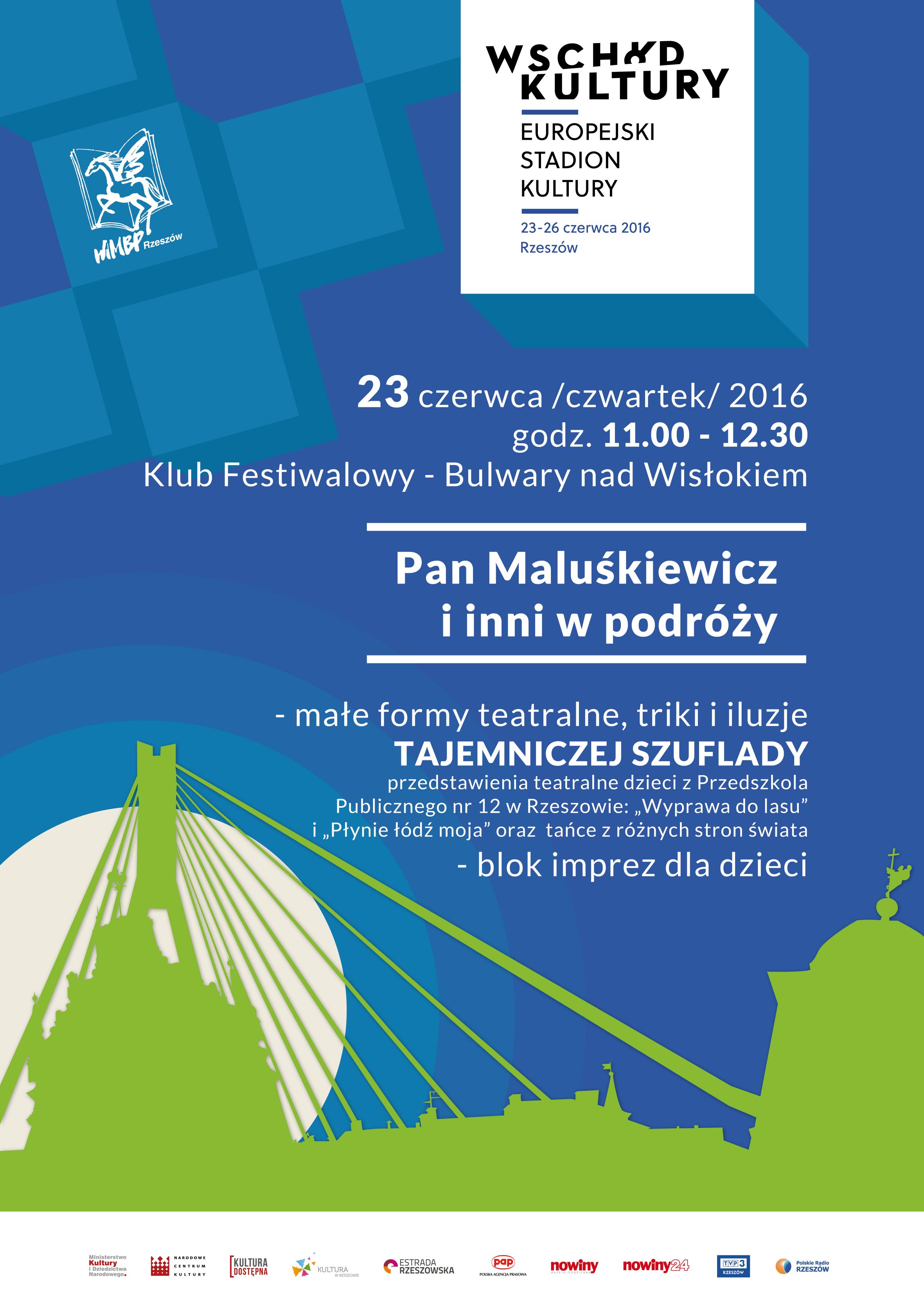 Spotkanie dla dzieci Rzeszów plakat