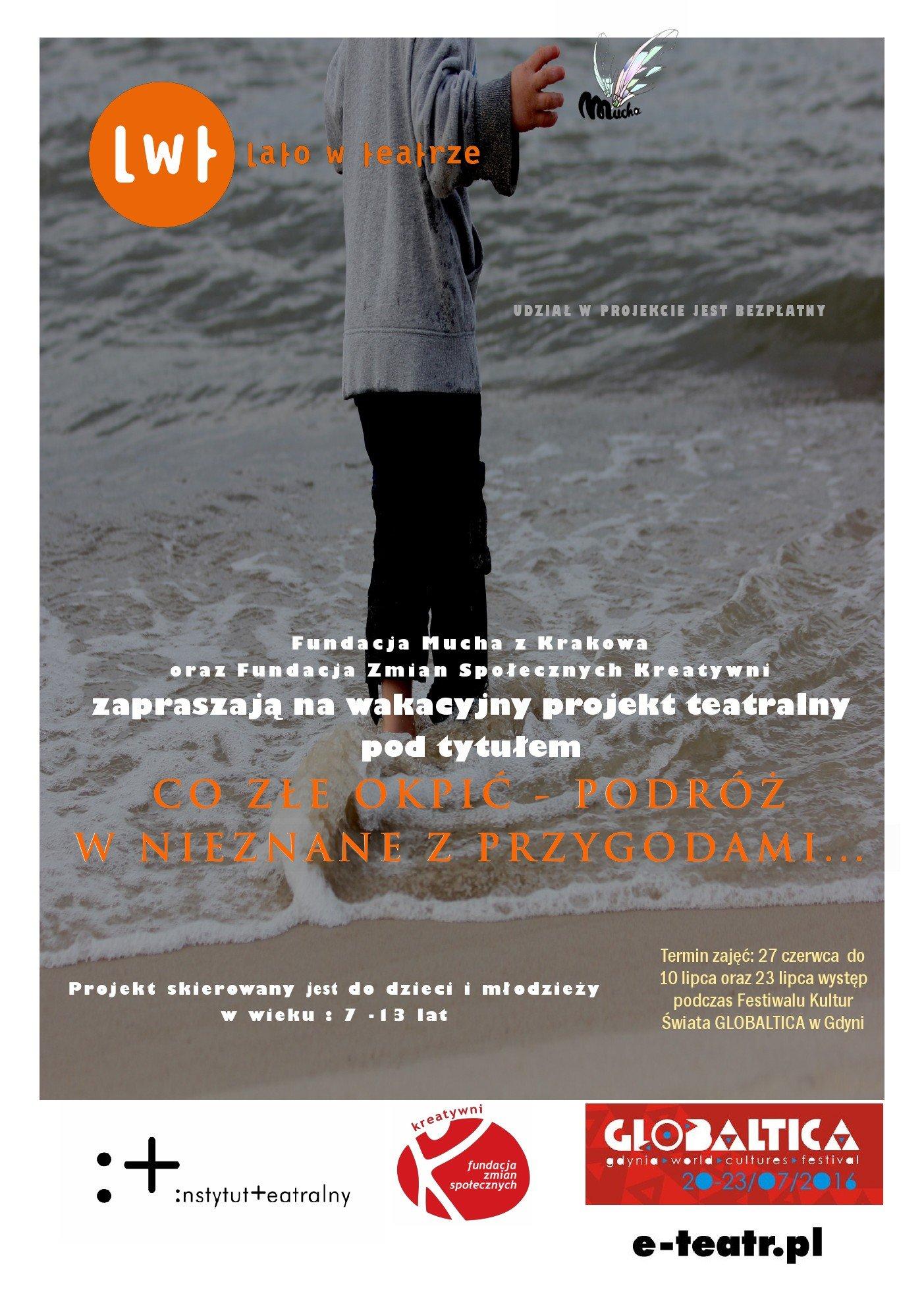 Plakat_półkolonie teatralne