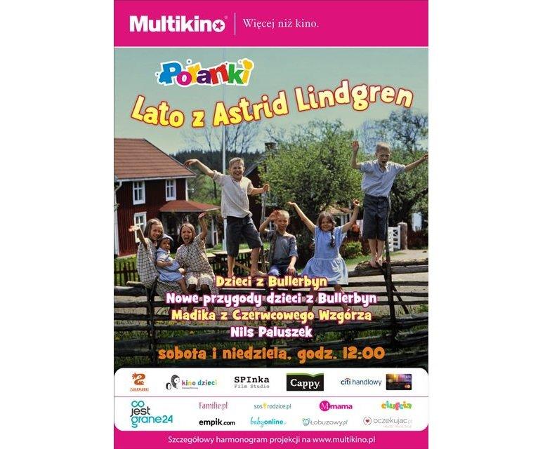 silver screen poranki lipiec Astrid Lindgren