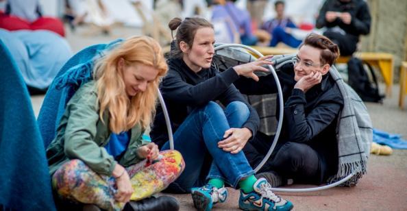 Przedfestiwalowy piknik na placu Wolności