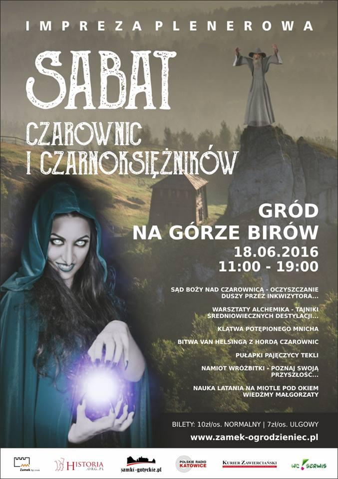 Sabat czarownic w Ogrodzieńcu