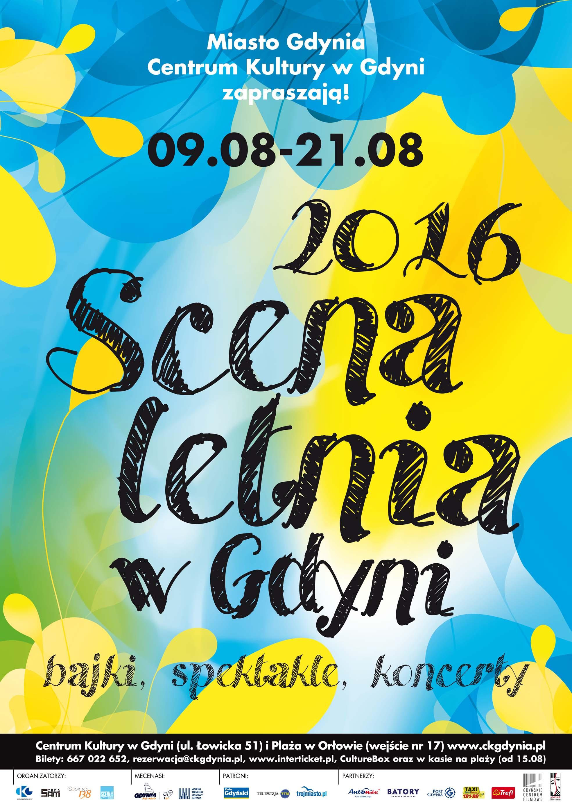 Scena Letnia 2016 - plakat