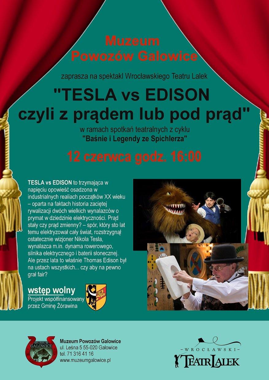 Tesla vs Edison Bajkobus w Galowicach