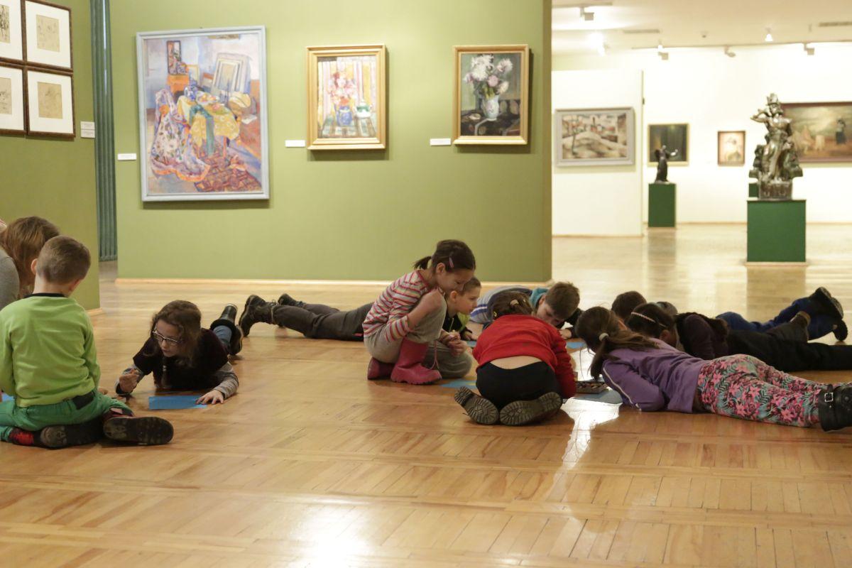 Zajęcia dla dzieci w Muzeum Górnośląskim