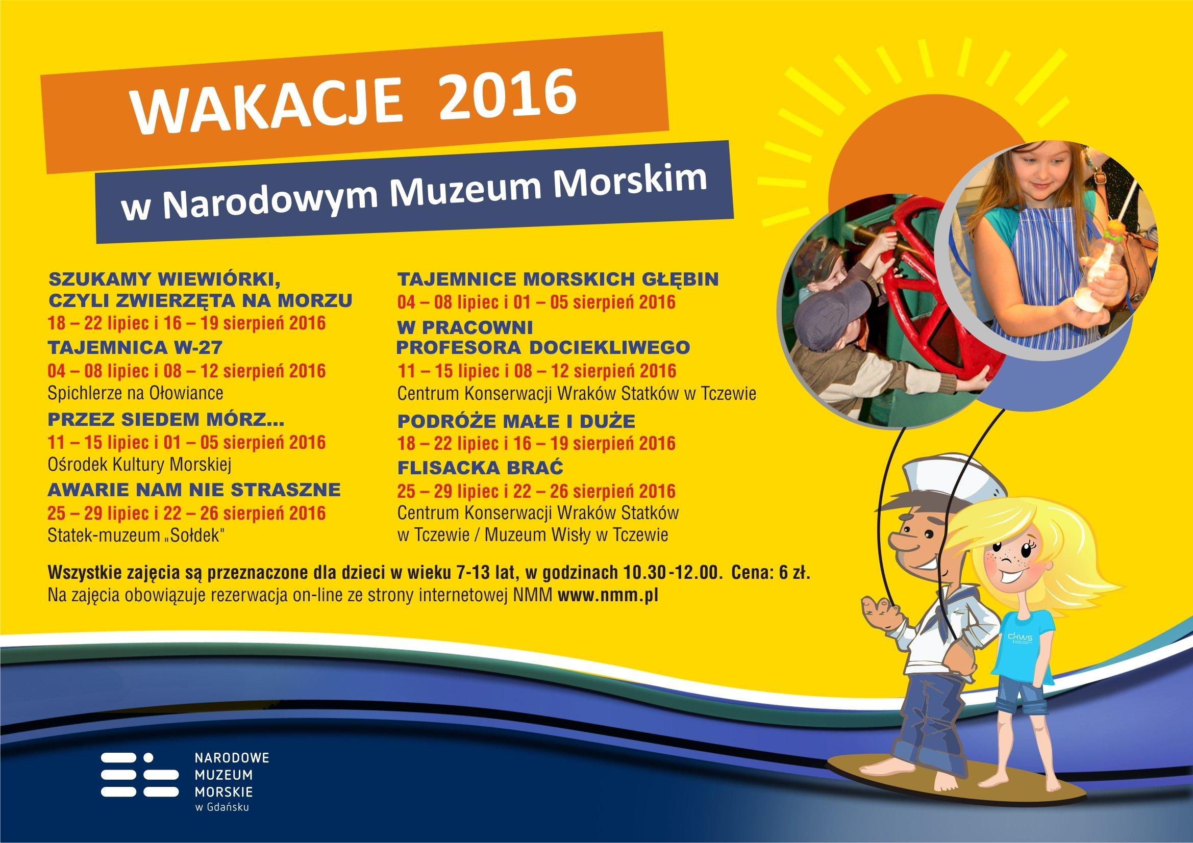 Wakacje2016poziom muzeum Narodowe w gdańsku