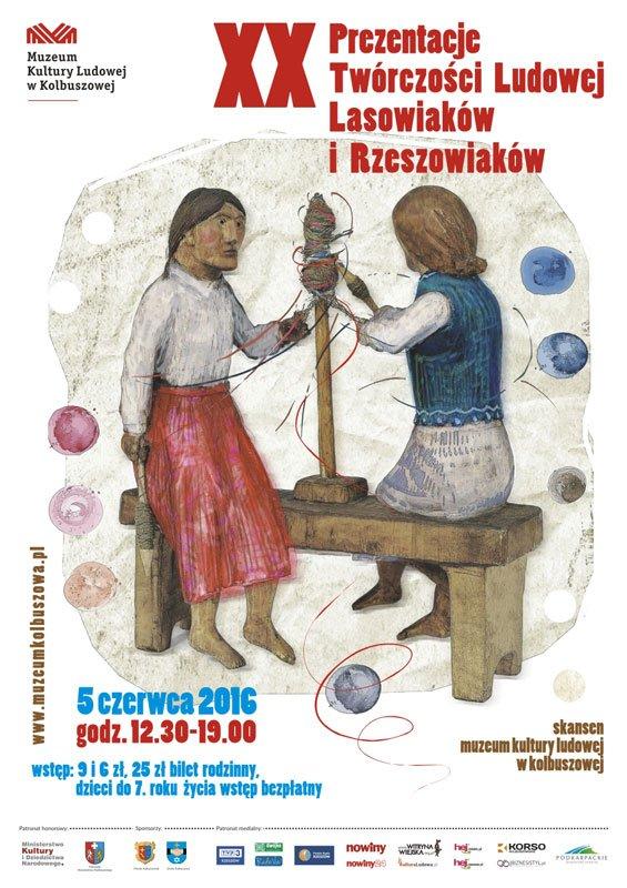 XX prezentacje tworczosci ludowej w Kolbuszowej