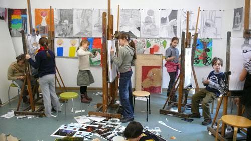 Artstyczne półkolonie dla dzieci atelier