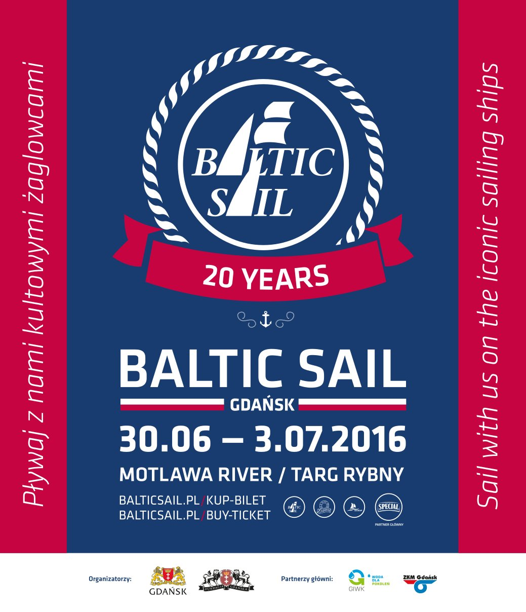 baltic sail gdansk 2016