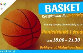 Basket - wakacyjne zajęcia z koszykówki dla młodzieży w Łodzi