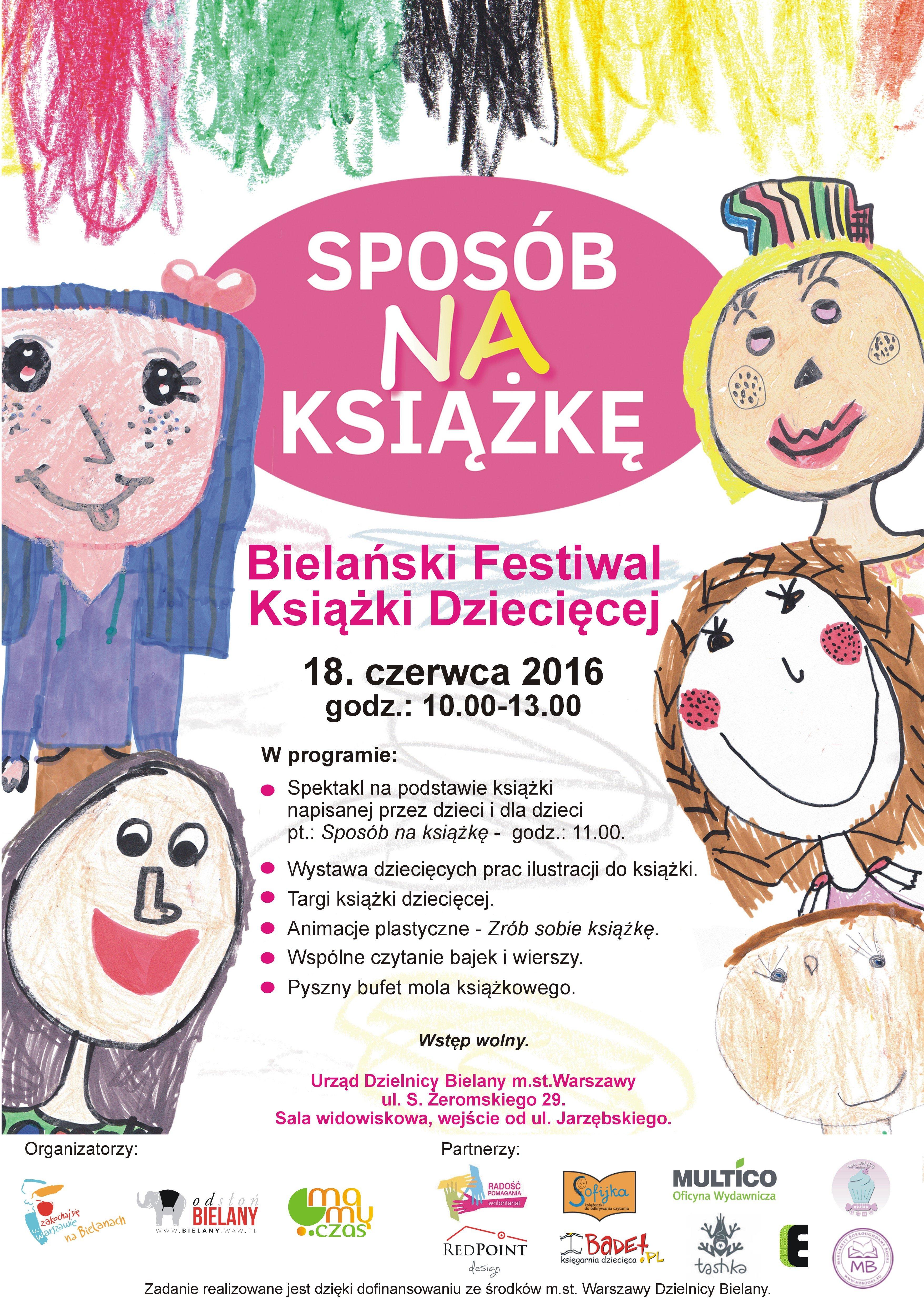 bielanski festiwal ksiązki dziecięcej