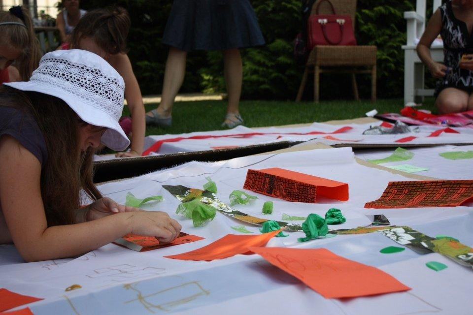 Muzeum Pałac Herbsta - letnie warsztaty w przypałacowym ogrodzie