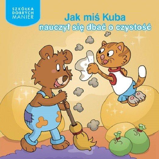 Jak miś Kuba nauczył się dbać o czystość. Recenzja książki dla dzieci Wydawnictwa Adamada