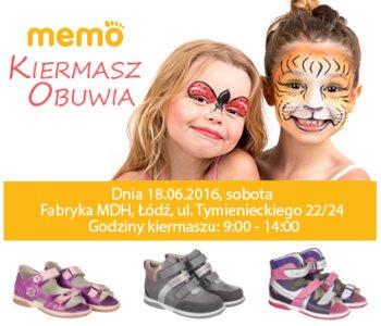 Kiermasz obuwia marki Memo