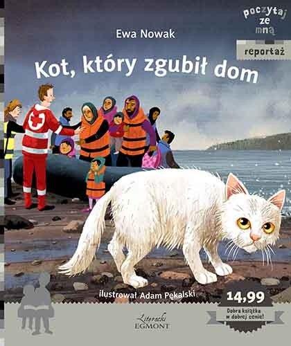 Kot który zgubił dom książka dla dzieci