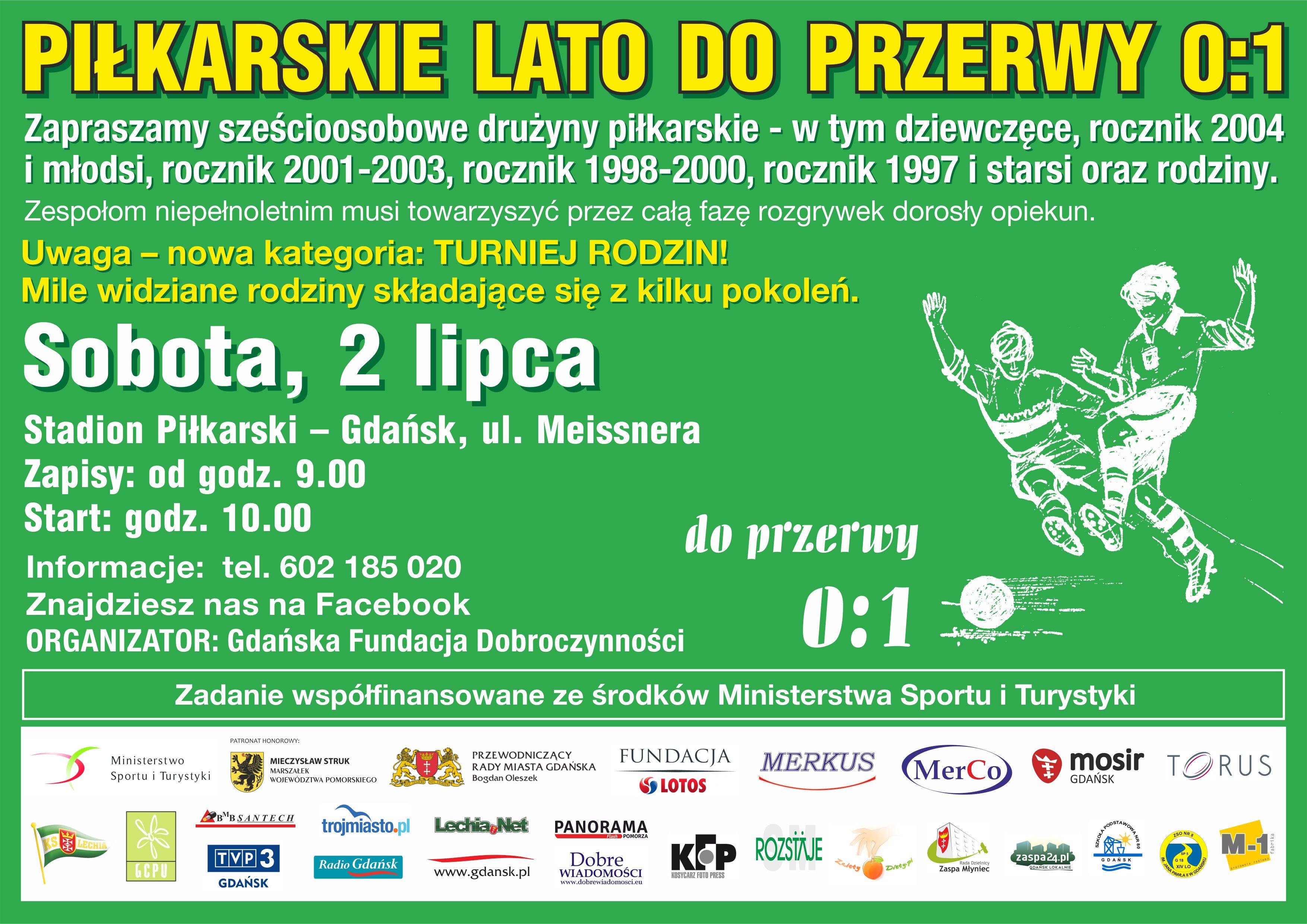 lato_plakat mecz piłka nożna