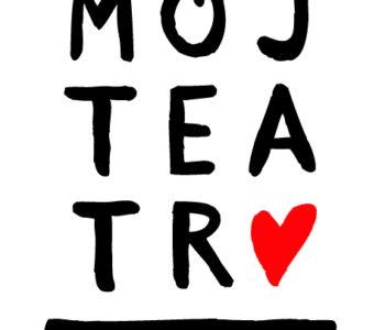 Logo konkurs Mój Teatr