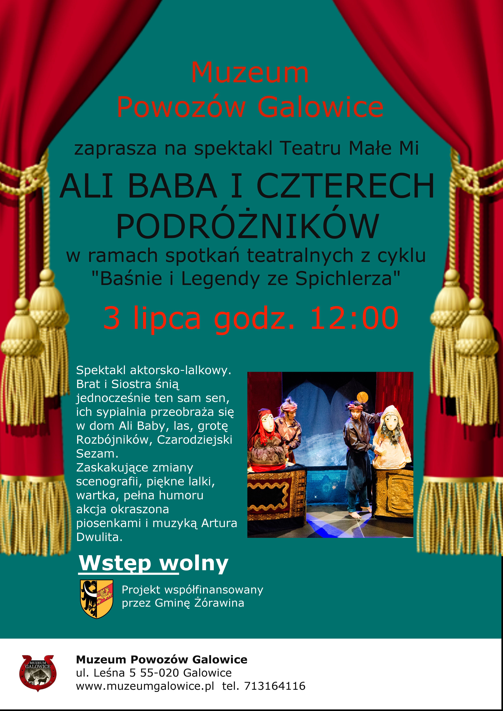 Ali Baba spektakl w Galowicach