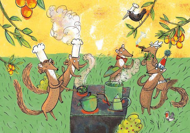 piec sprytnych kun ksiązka dla dzieci