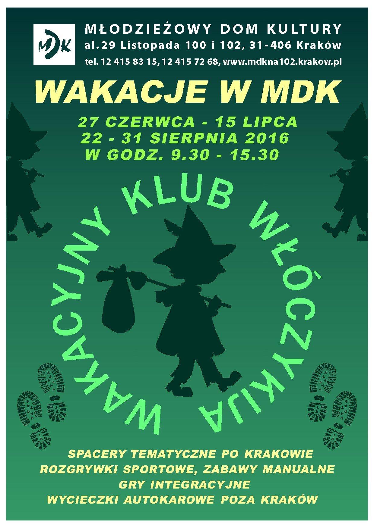 Lato w Mieście w MDK Krakow