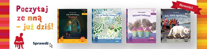 Poczytaj ze mną seria książek dla dzieci Wydawnictwo Egmont
