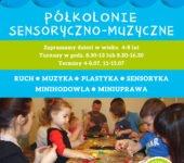 polkolonie sensoryczne 2016 muzyczna Przystan Warszawa muranów