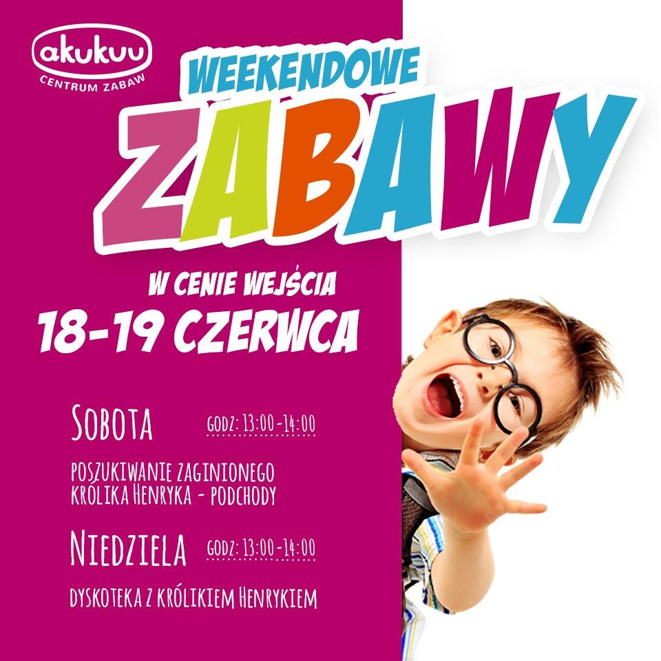 Weekendowe zabawy dla dzieci w Akukuu Centrum Zabaw