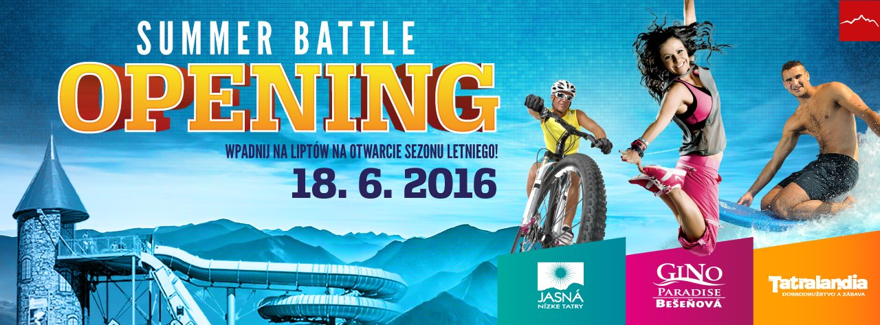 Wodne szaleństwa, rowery, slacklining i tajska kuchnia na Summer Battle Opening