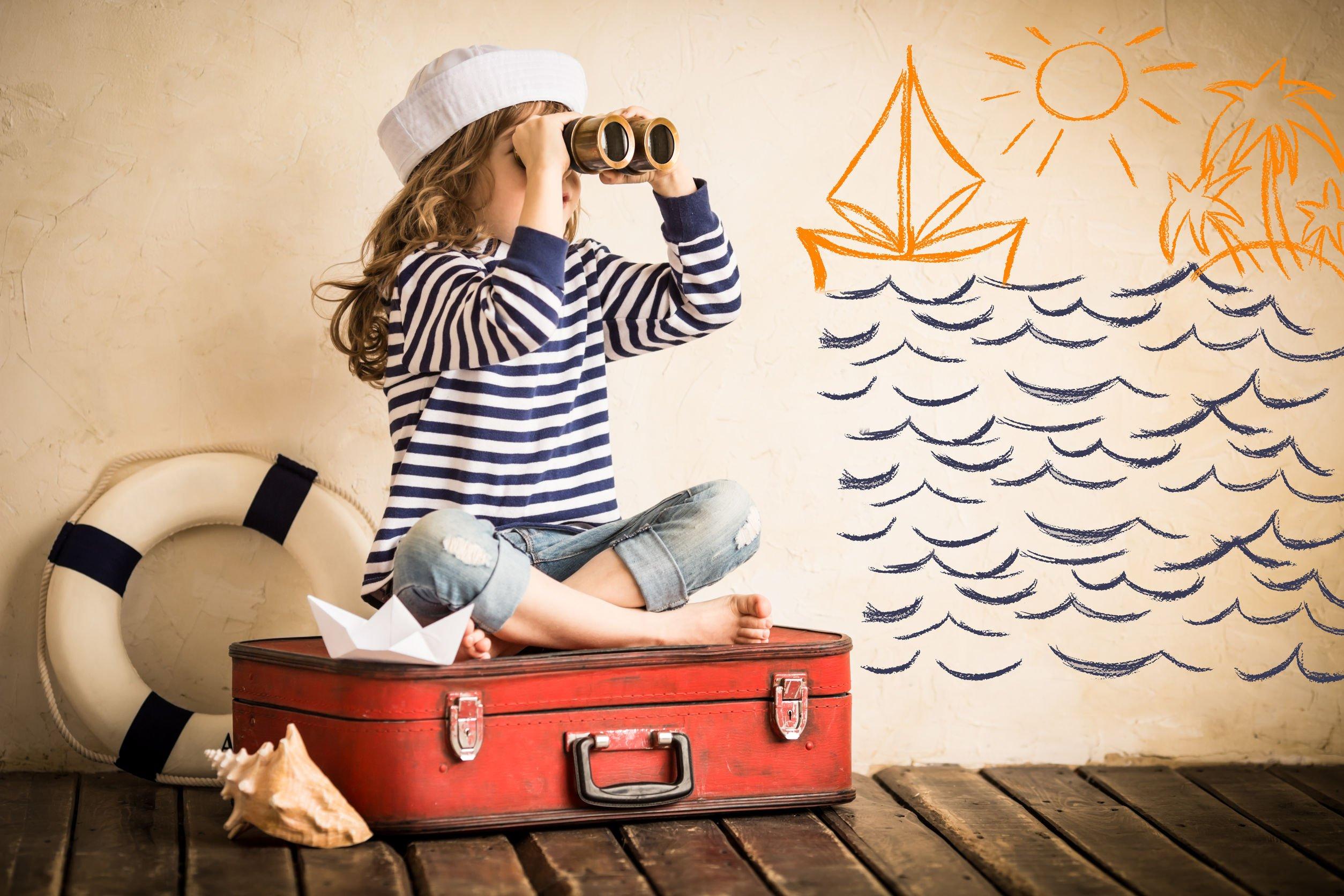 Skrzynia marynarz przedszkole ciuch