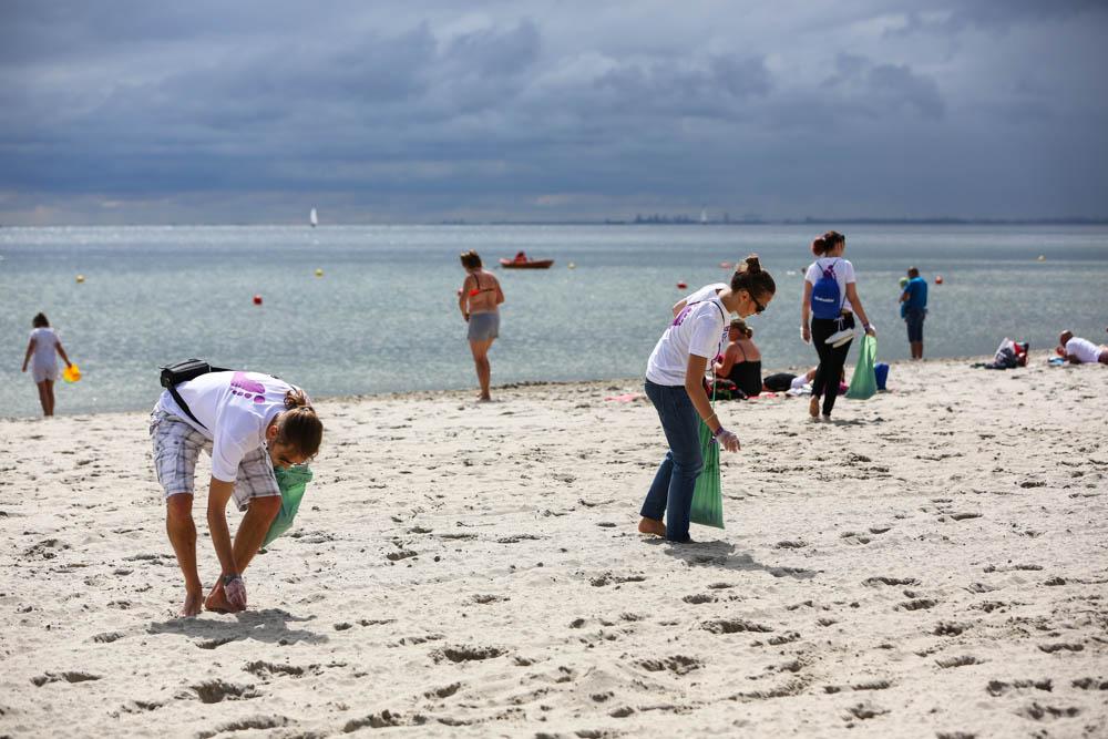 czysta plaża