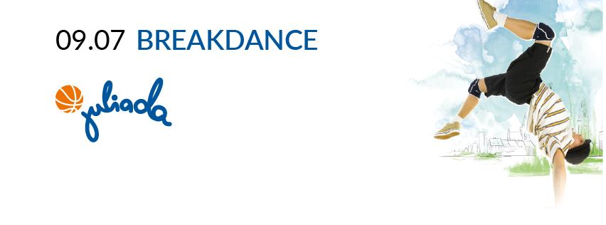 Turniej Breakdance przed Galerią Krakowską