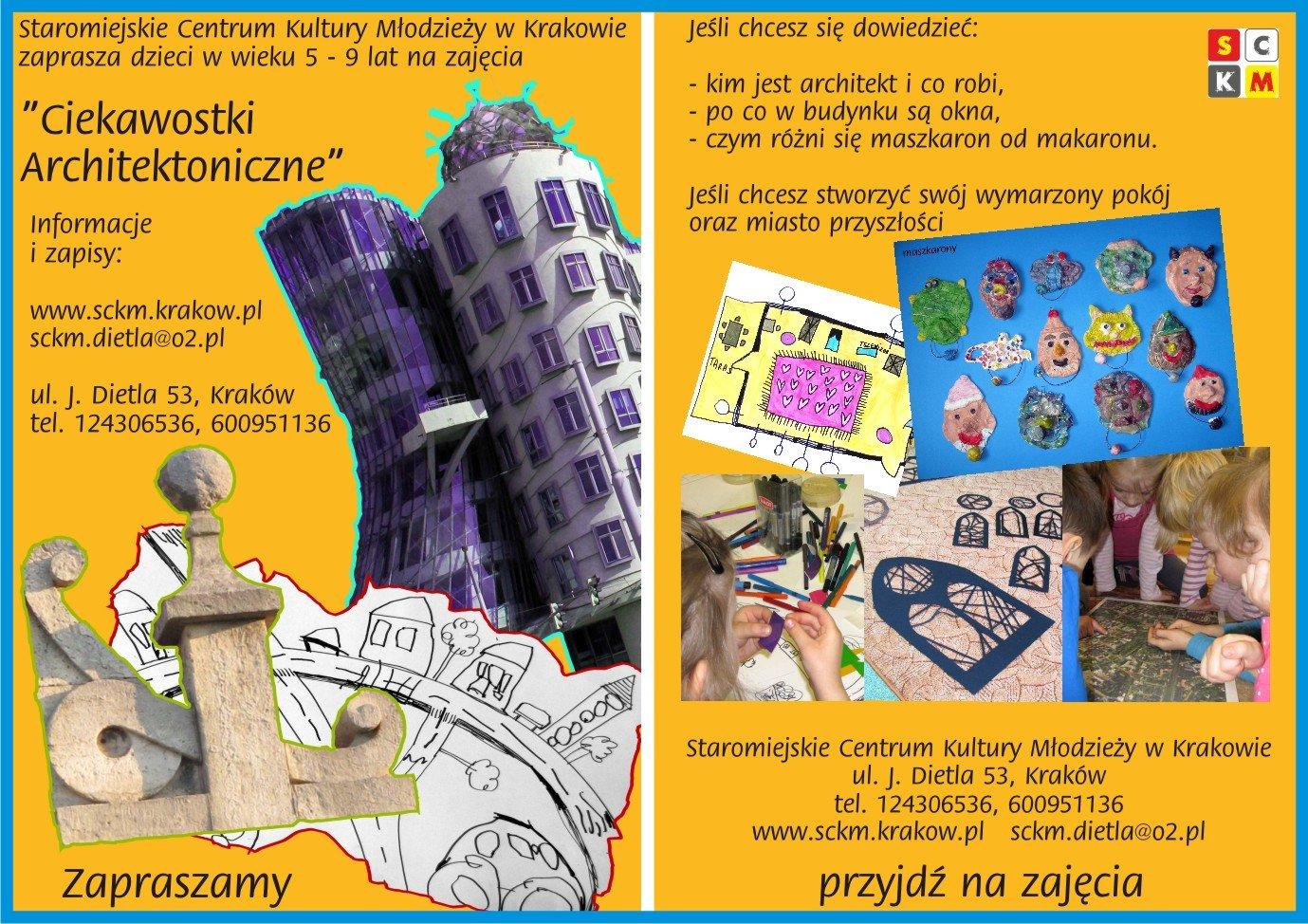Ciekawostki Architektoniczne dla dzieci