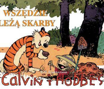Calvin i Hobbes komiks wydawnictwa Egmont