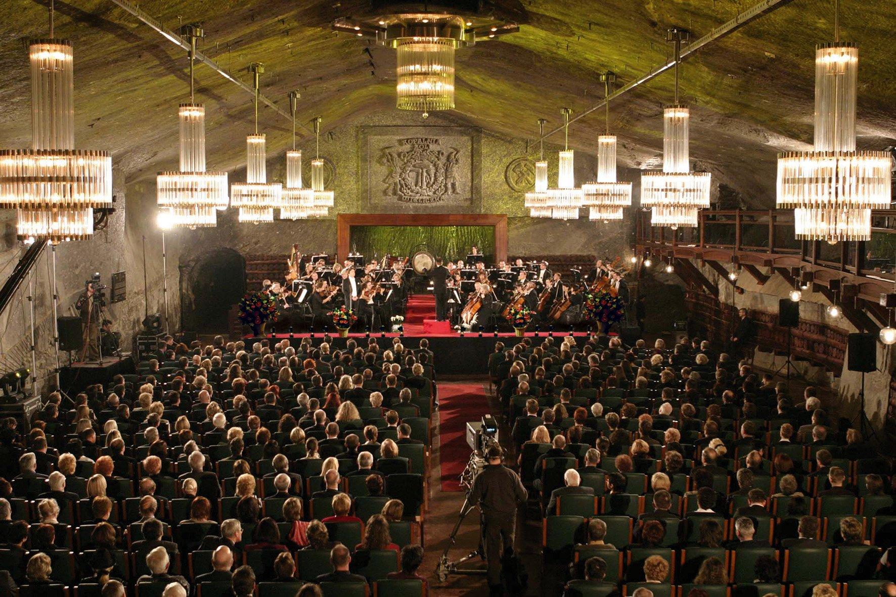 koncert w Kopalni Soli w Wieliczce