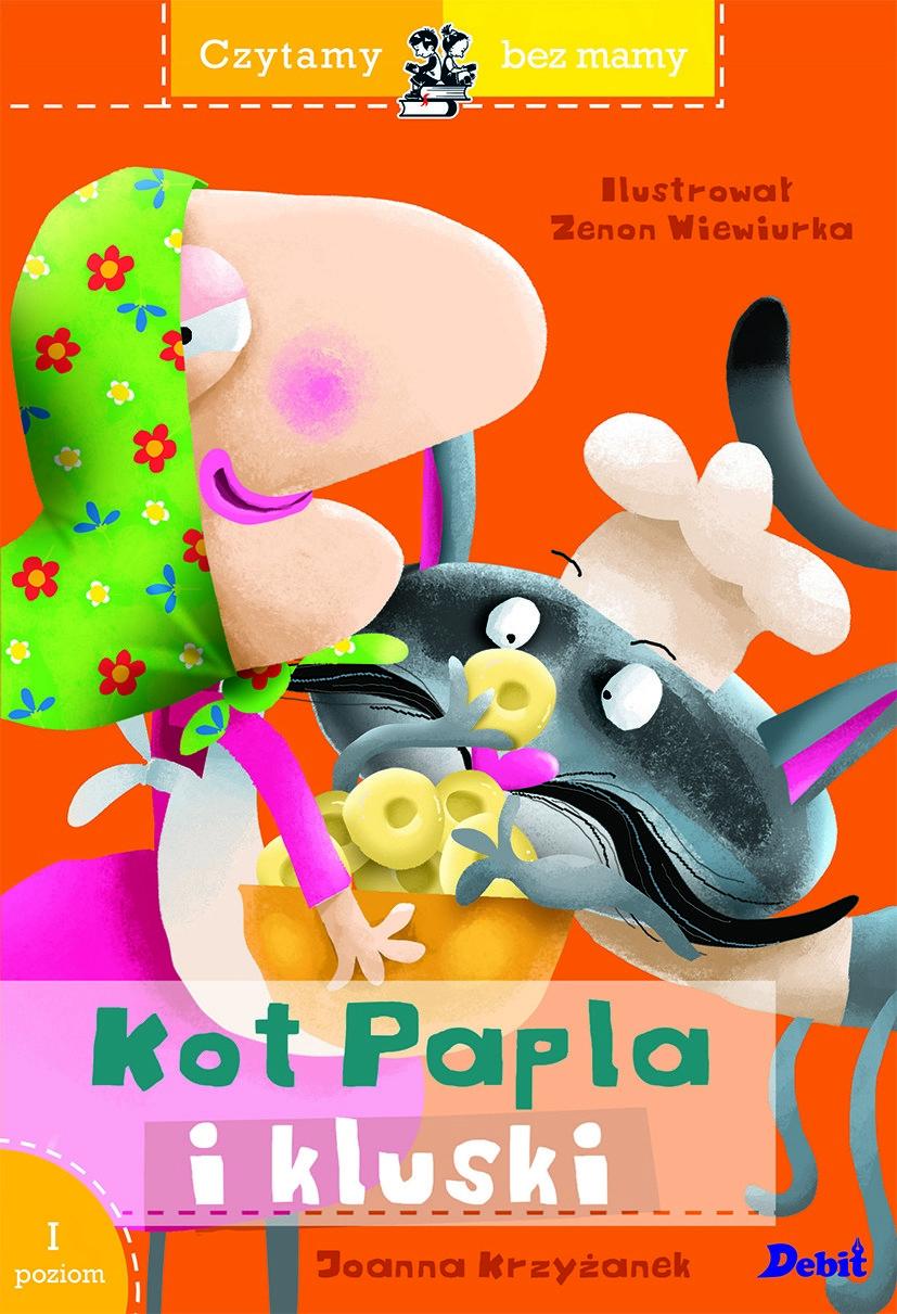 Kot Papla i kluski seria czytamy bez mamy