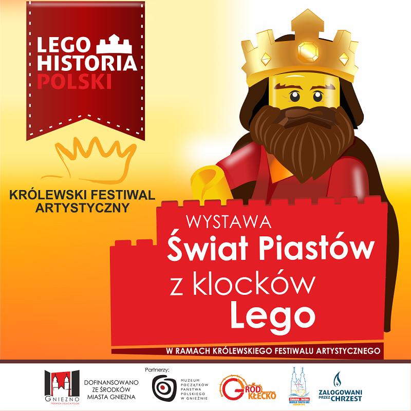 Świat Piastów z klocków LEGO