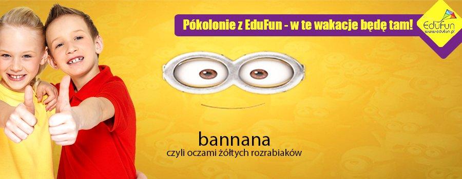 półkolonie banana