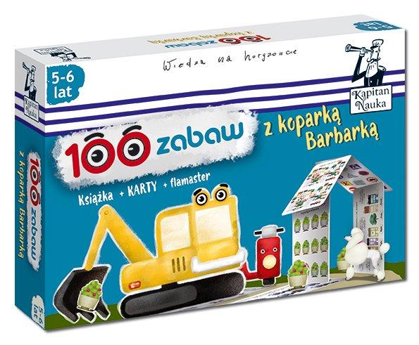 100 zabaw z koparką Barbarą