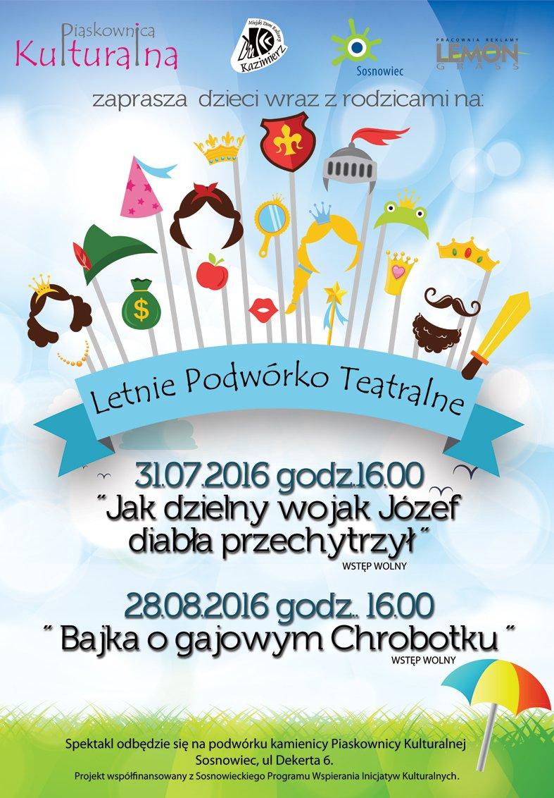 Letnie Podwórko Teatralne Sosnowiec