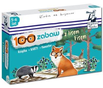 100 zabaw z lisem fisem karty ścieralne dla dzieci
