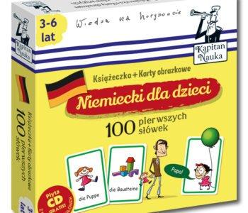 Niemiecki dla dzieci 100 pierwszych słówek