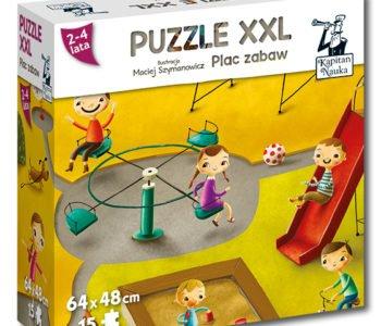 plac zabaw puzzle xxl dla dzieci