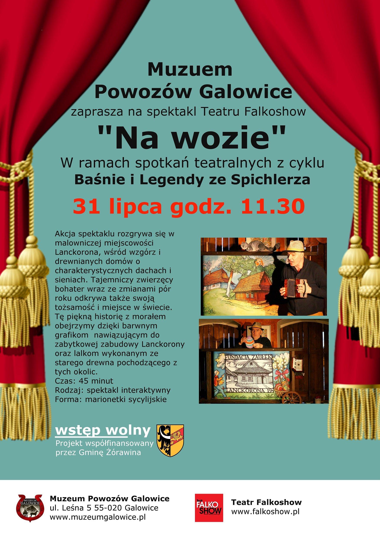 plakat falkoshow Galowice