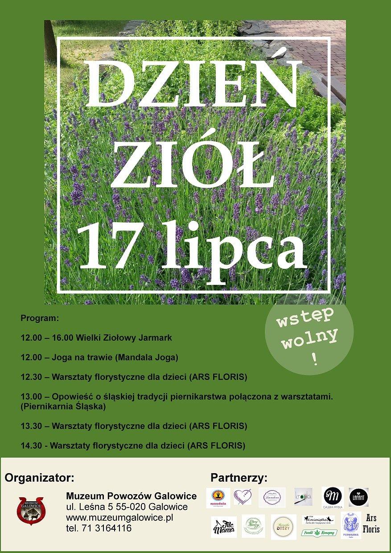 plakat zioła Galowice