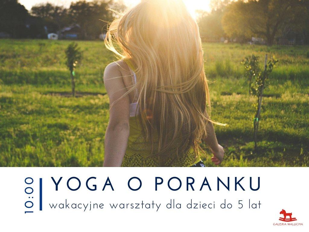 yoga w galerii malucha gdynia