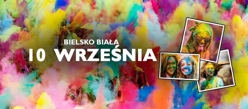 Święto Kolorów Bielsko plakat