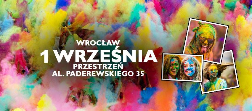 Święto Kolorów Wrocław plakat